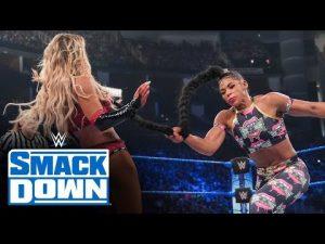 Bianca Belair vs. Carmella - SmackDown Women's Championship MatchSmackDown: July 16, 2021