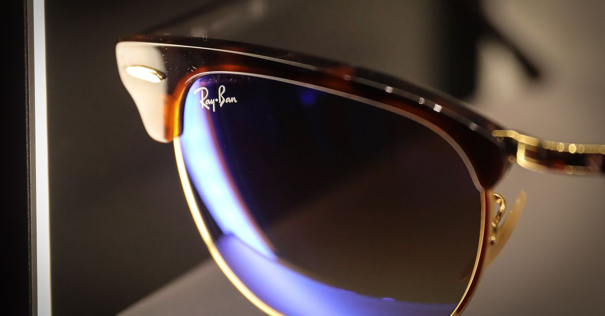 Facebook's next hardware release is its Ray-Ban smart glasses