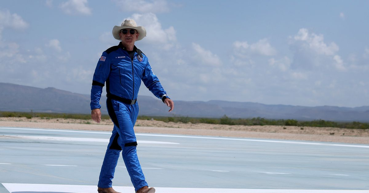Jeff Bezos sees space as a new sacrificial zone
