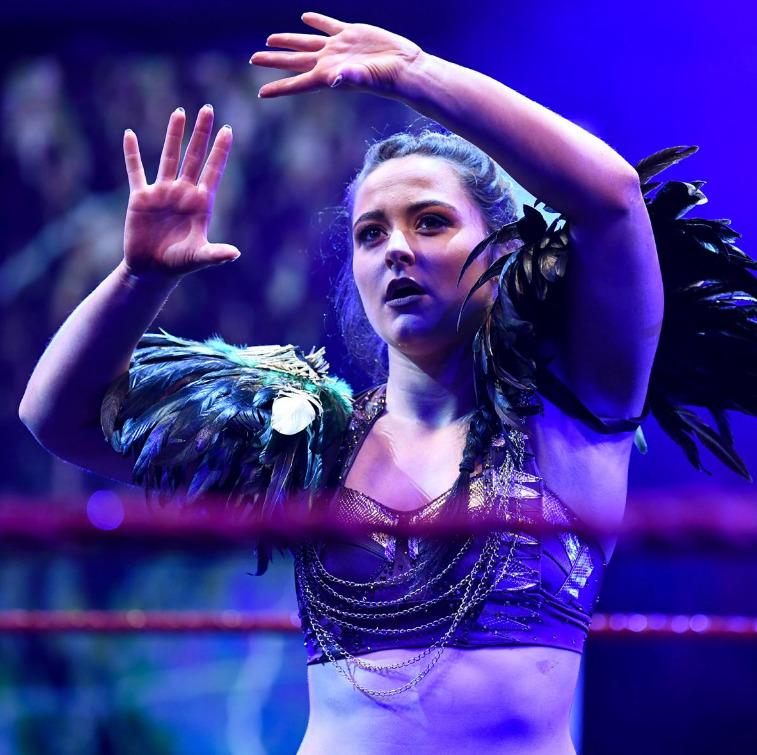 Jinny v Aoife ValkyrieWWE NXT UK: 29 July 2021