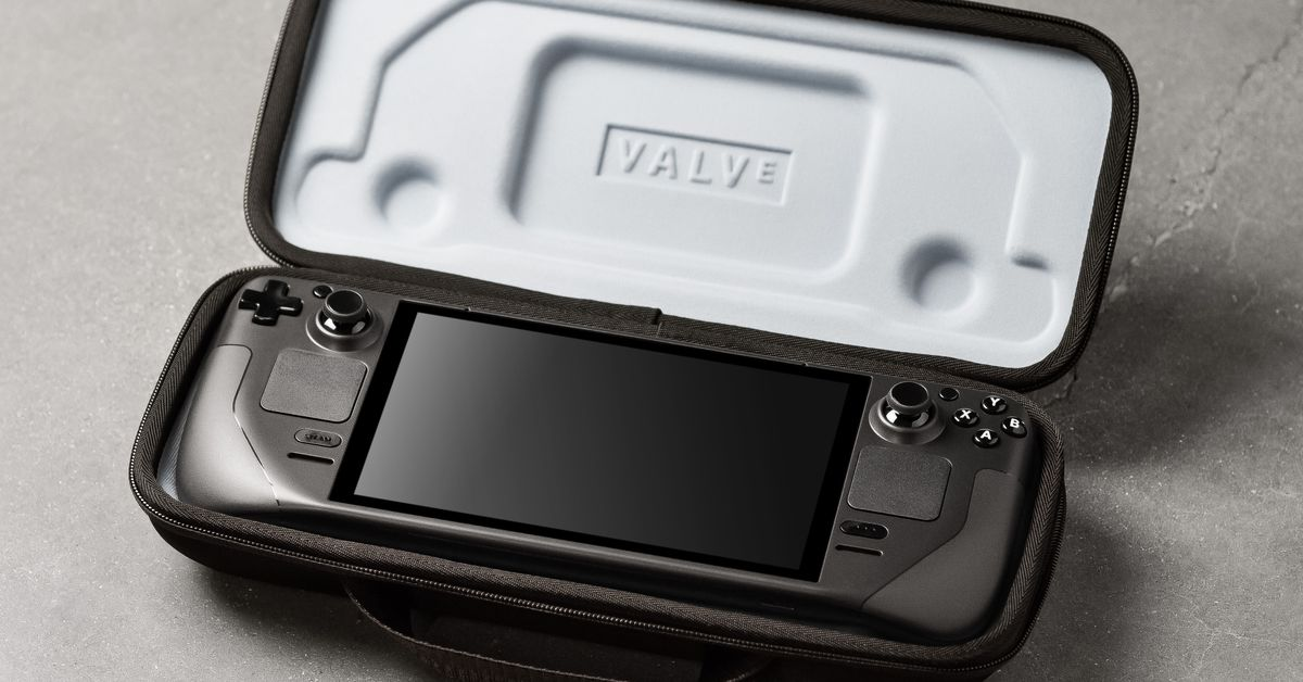 Valven Steam Deck: all the news about the new handheld device