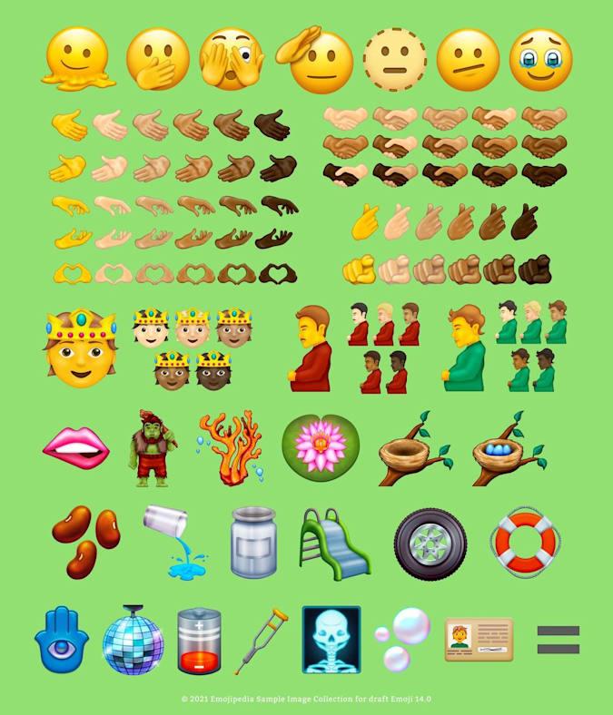 Draft Unicode 14.0