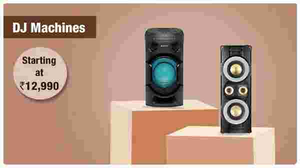 DJ speakers from Rs.  12 990