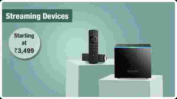 Streaming equipment from Rs.  3,499