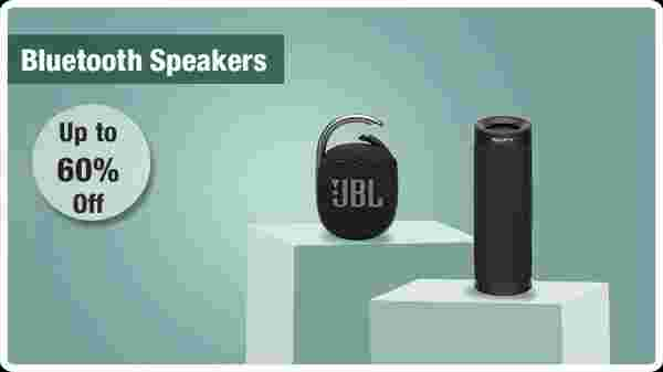 Up to 60% off Bluetooth speakers