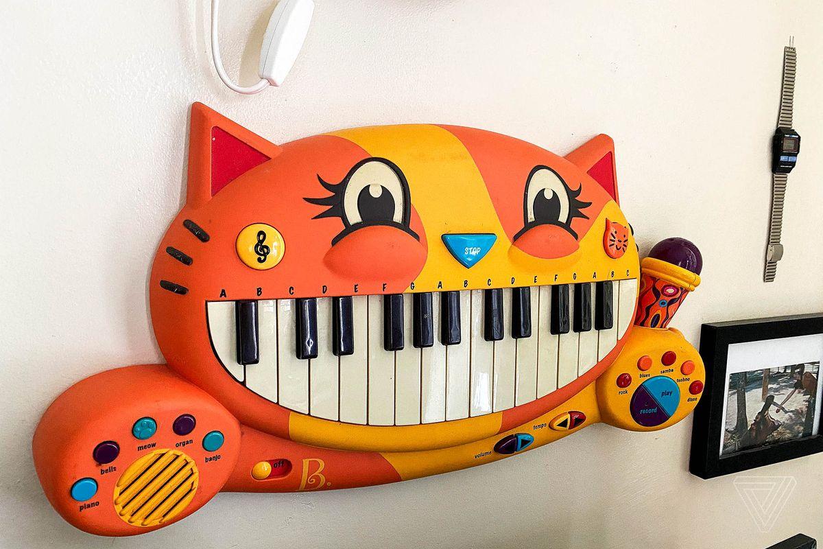 Happy cat piano.