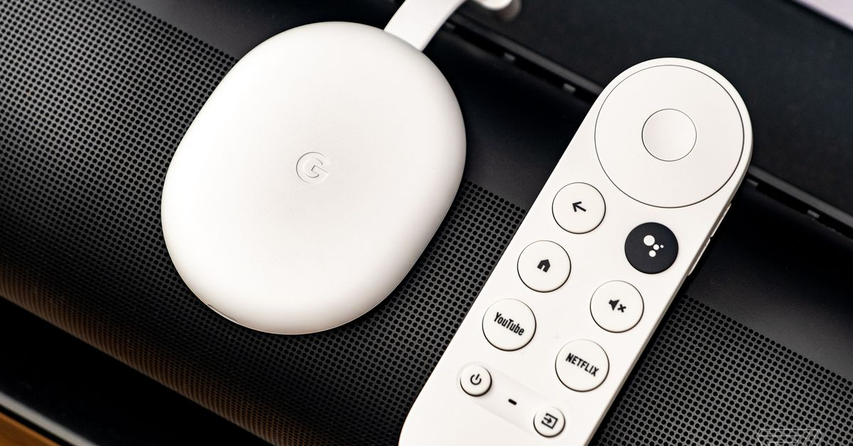 The Google TV update adds the option to manually clear the Resume row