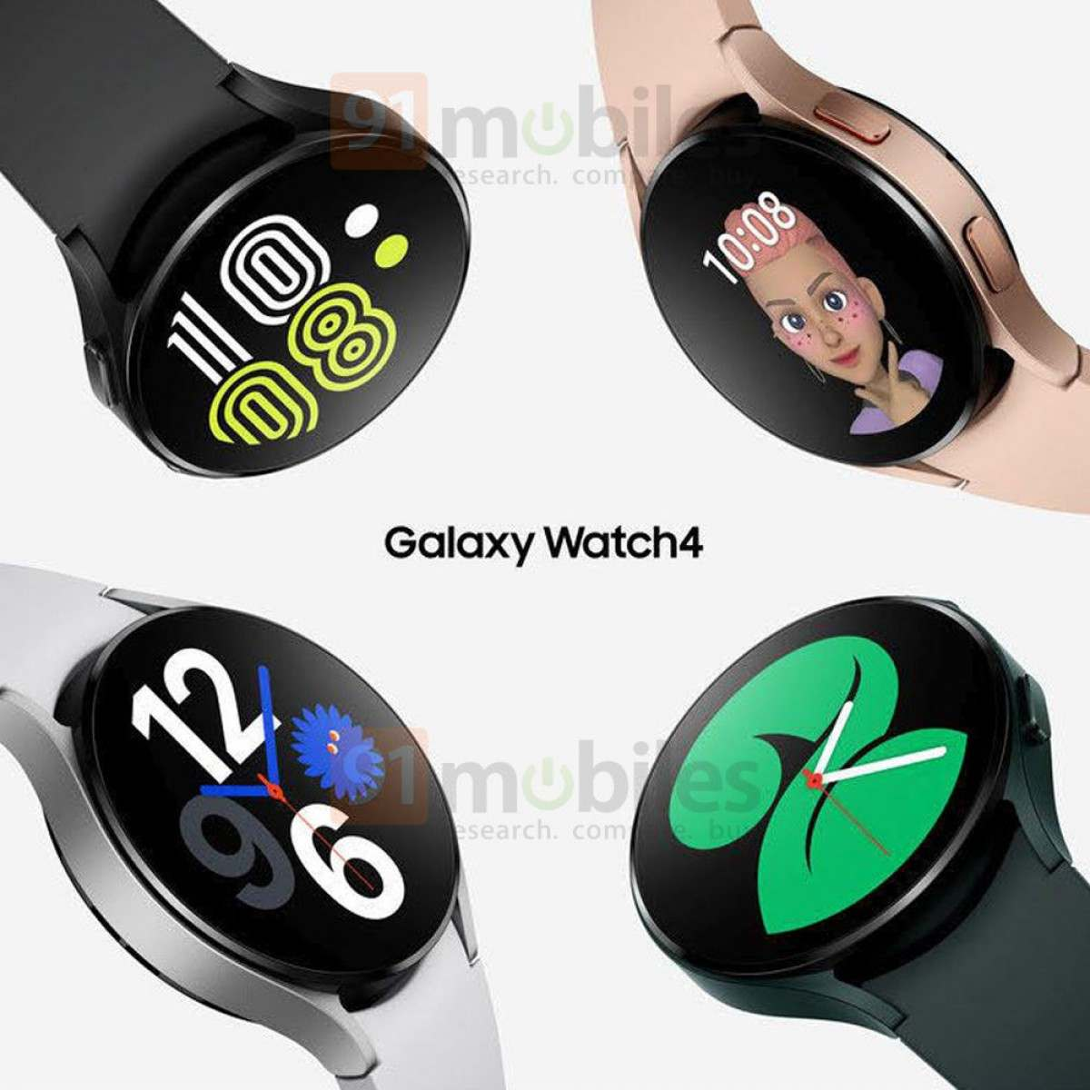 Samsung Galaxy Watch 4 does.  Photo: 91 mobile phones