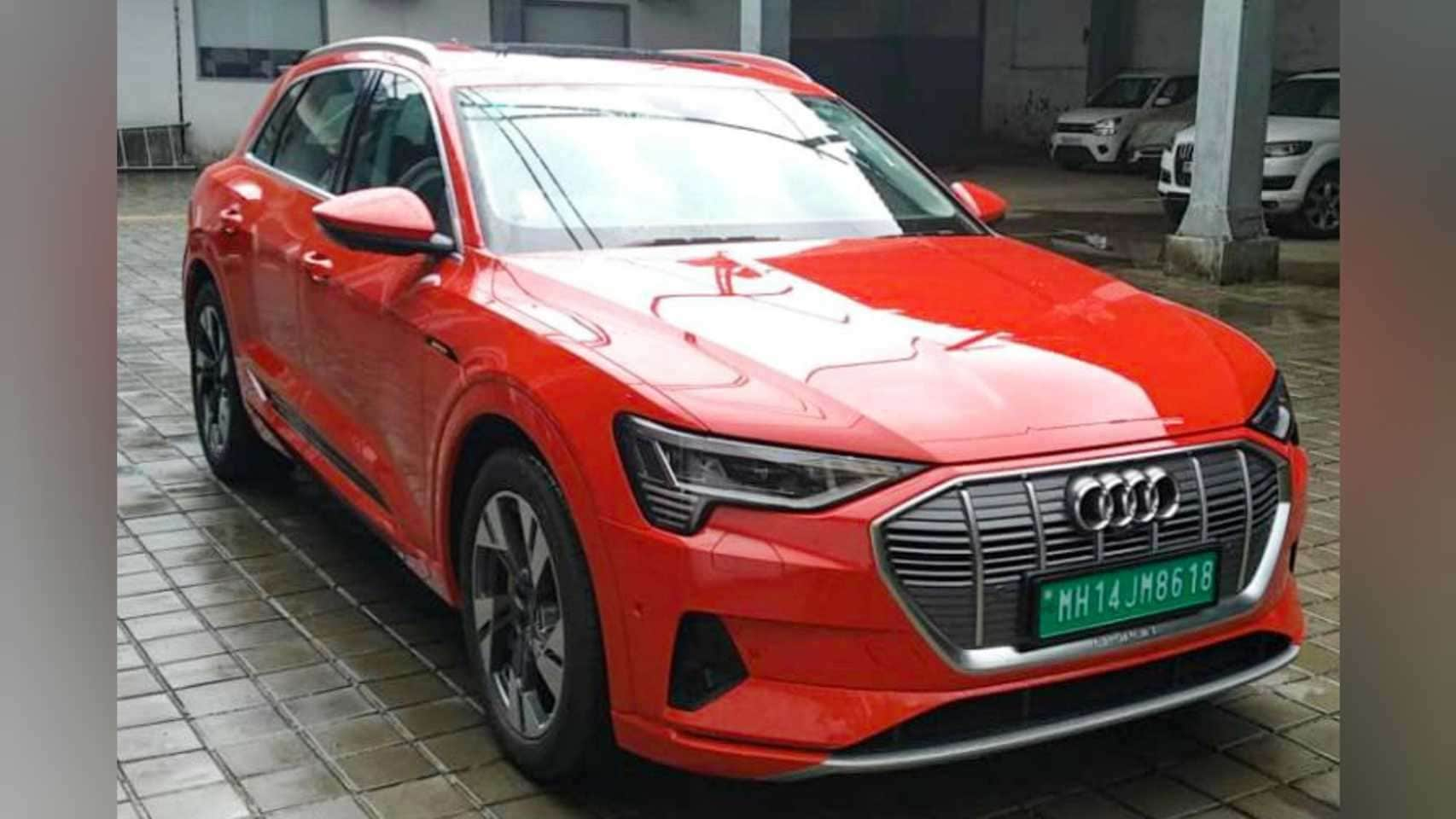 The Audi e-tron competes with the Mercedes-Benz EQC and the Jaguar I-Pace.  Photo: Audi India