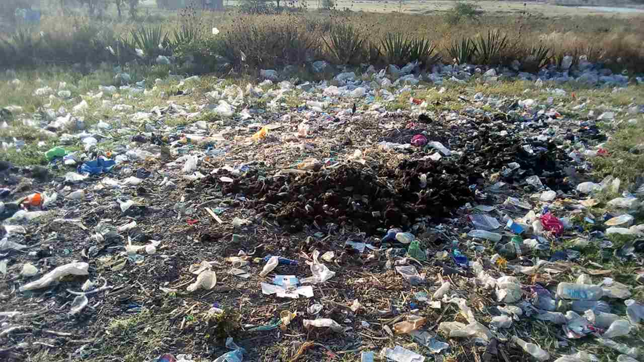 Agriculture is the main sector of Tanzania's economy, with almost 70% of the poor living in rural areas and working in farming. These days, plastic waste pollution has increased so much that it is affecting both the environment and livelihoods. Photo by Paul Elias (Tanzania)