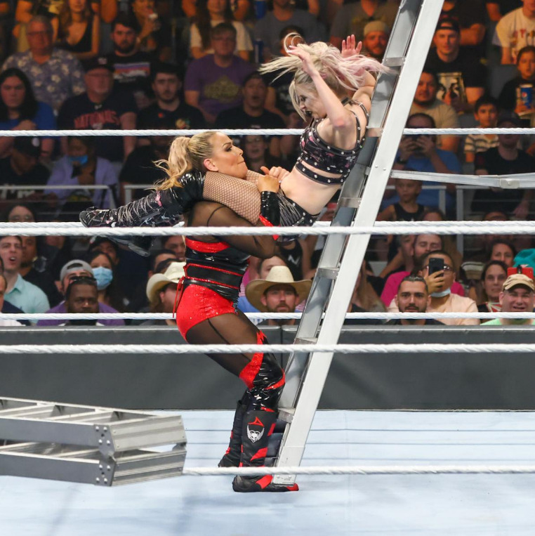 Women's money in the bank ladder matchWWE Money in the Bank 2021Digital: the third part