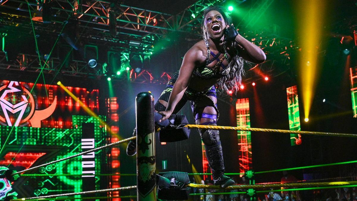 Ember Moon vs. Dakota KaiWWE NXT: July 13, 2021 - Digital