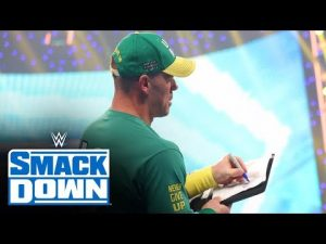 John Cena signed a contract to challenge Roman Reigns at SummerSlamSmackDown: July 30, 2021