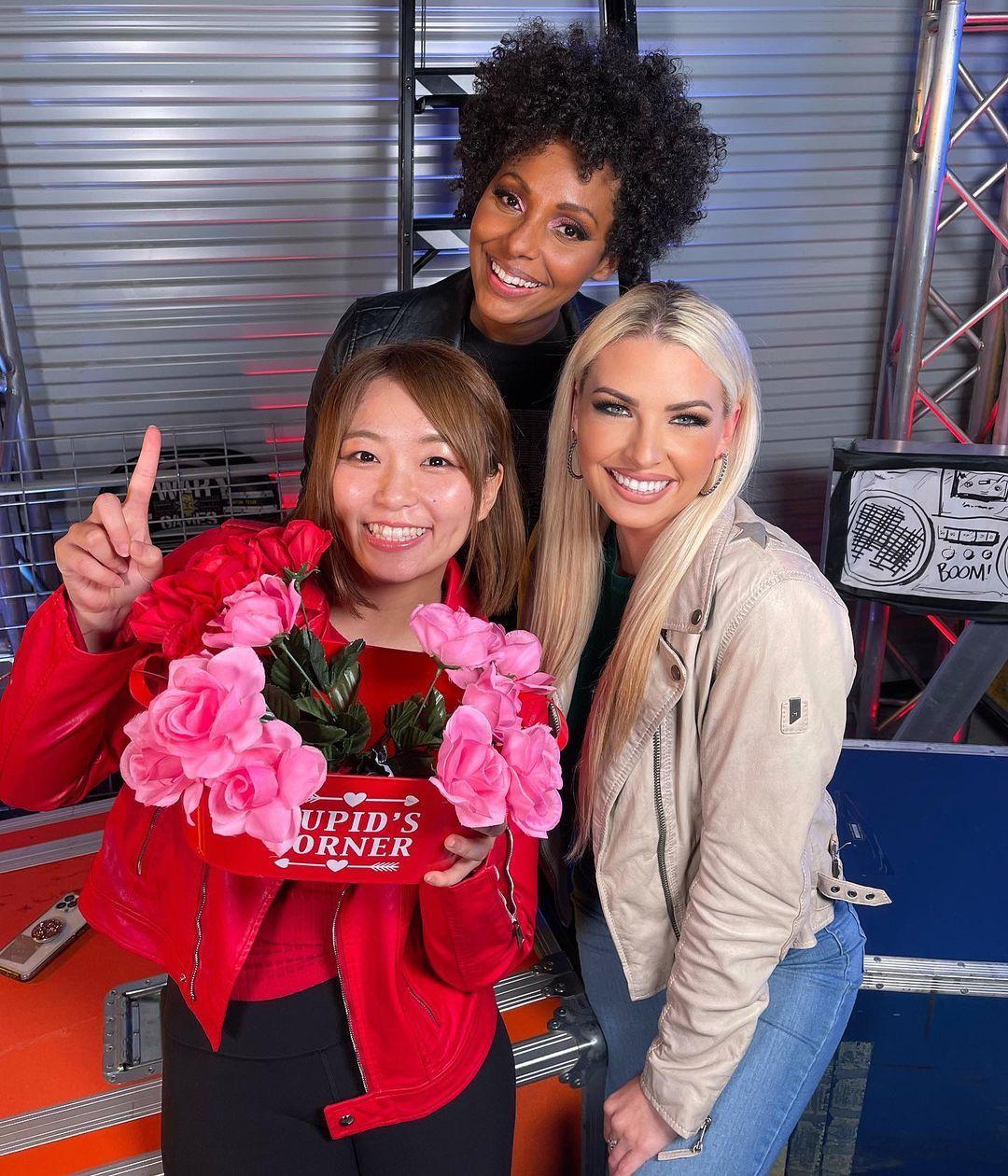 WWE Women 🌞, Sarray, Alicia Taylor, McKenzie Mitchell 💋