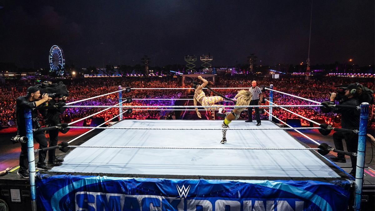 WWE Women, Bianca Belair (c) - For Carmella Smackdown ...