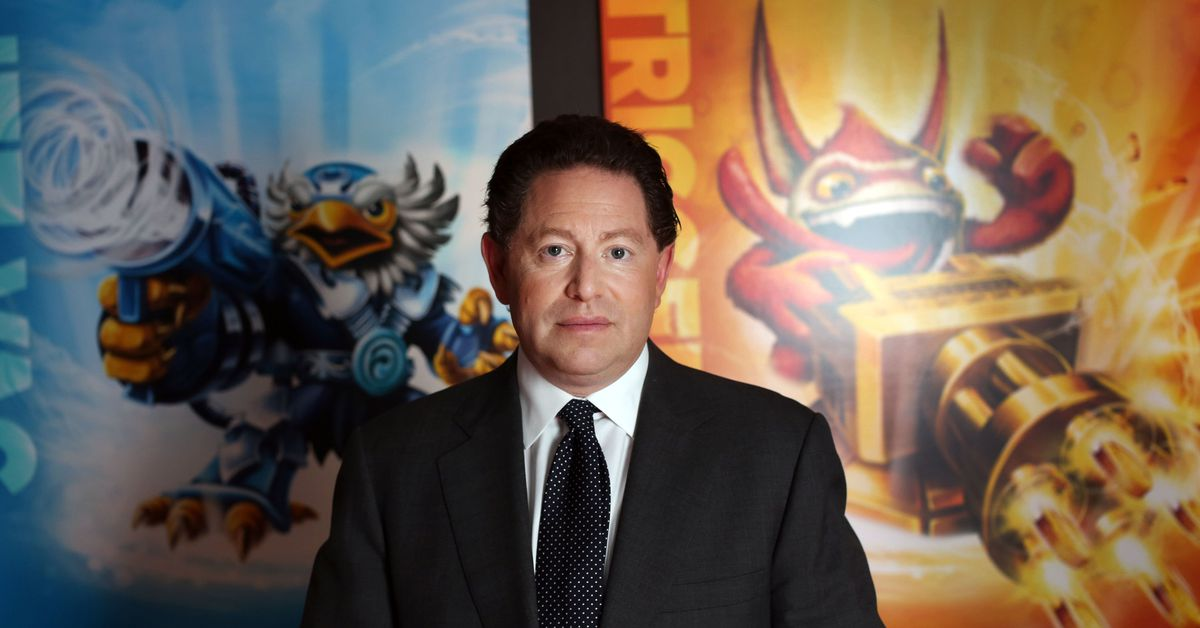 Read a letter from Activision Blizzard CEO Bobby Kotick about the harassment allegations