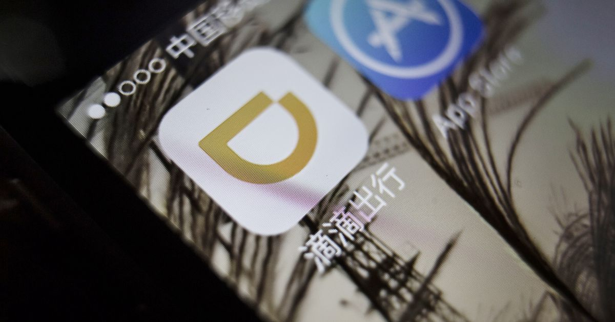 The Chinese regulator ordered the Didi riding app to be removed from stores