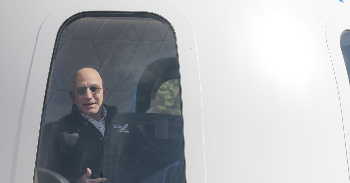 Jeff Bezos's opening into space removes the last regulatory hurdle