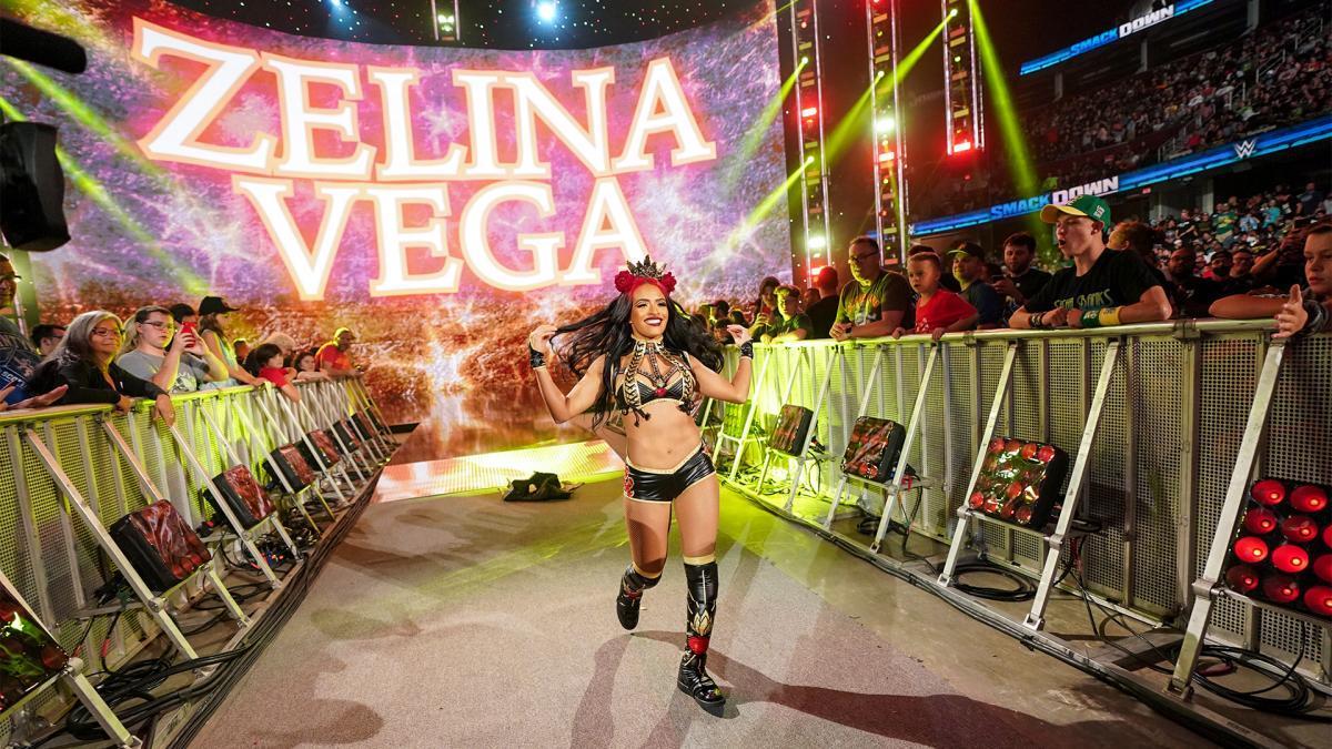 WWE Women, Zelina Vega: Friday Night Smackdown 23.7.21