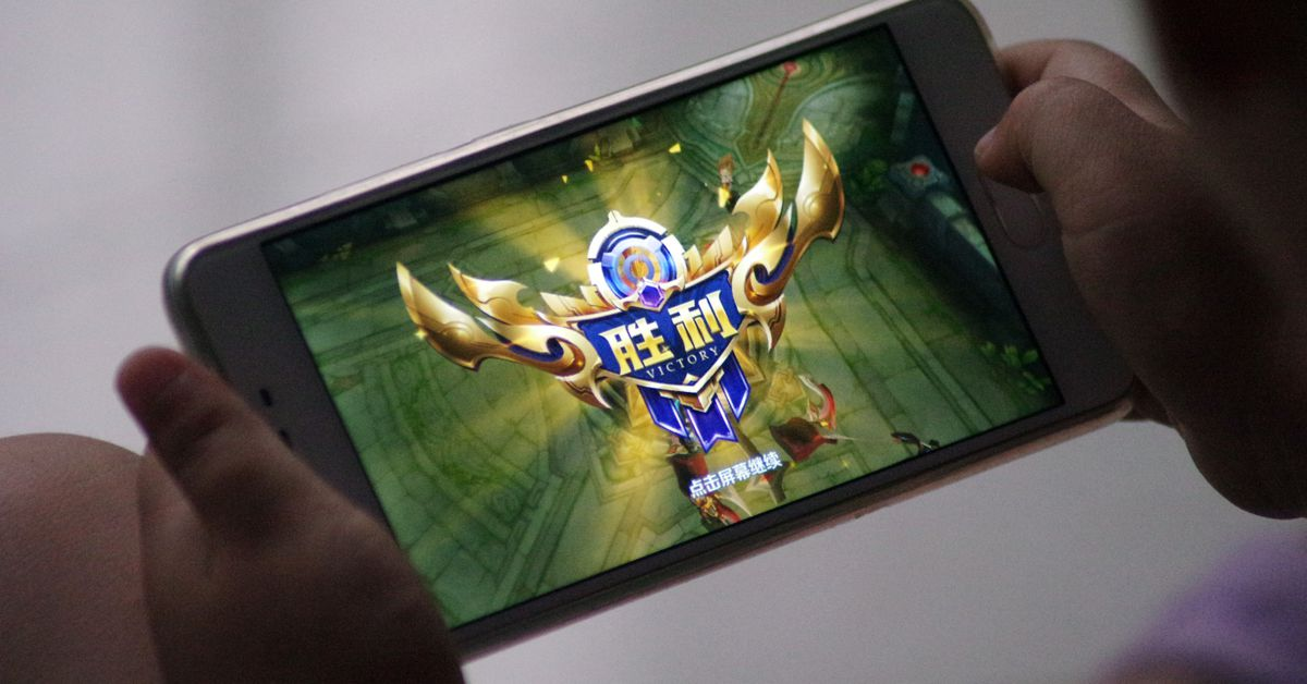 Tencent adds large-scale facial shots just to get kids to play games past the curfew