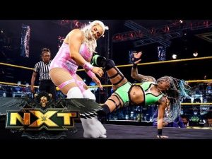 Kacy Catanzaro & amp;  Kayden Carter v Franky Monet & amp;  Jessi Kamea WWE NXT: July 27, 2021