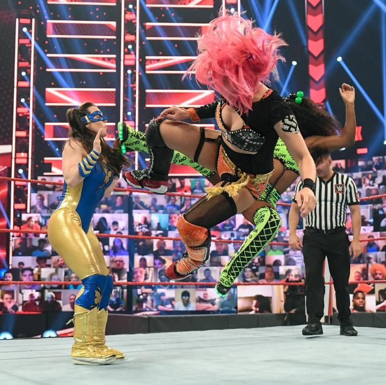 Nikki ASH vs. Alexa Bliss vs. Asuka vs. Naomi - Fatal 4-Way MatchRaw: July 12, 2021 - Digital