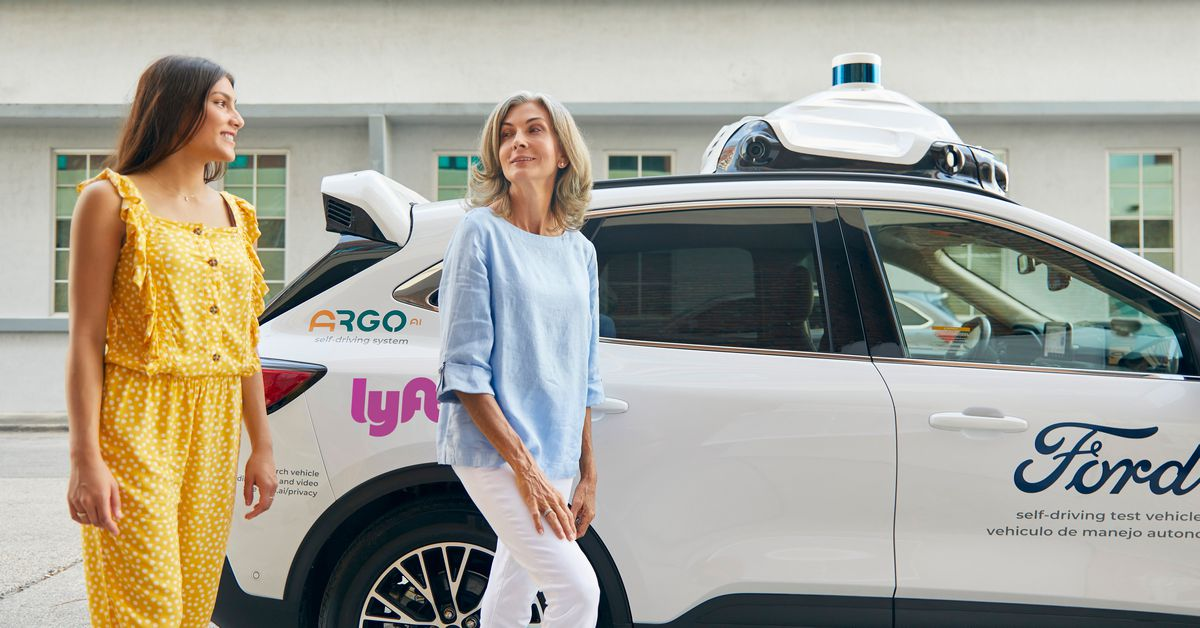 Ford's self-propelled cars are available on the Lyft platform in Miami and Austin