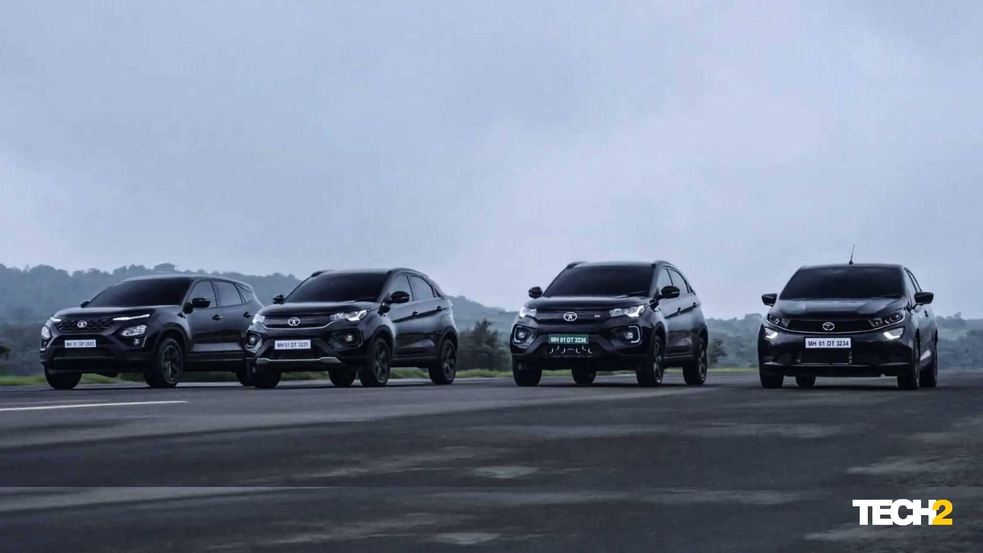 All Black Altroz Dark, Nexon Dark, Nexon EV Dark Launched - Technology News, Firstpost