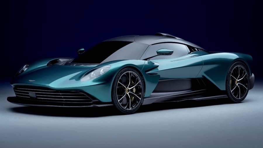 Aston Martin Valhalla's V8 engine is from Mercedes-AMG.  Photo: Aston Martin
