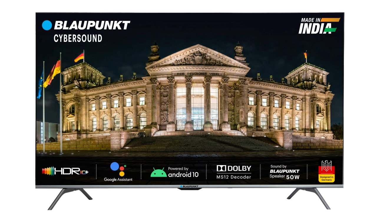 Blaupunkt launches Android smart TVs Made in India for start-up price of Rs 14999 - Technology News, Firstpost