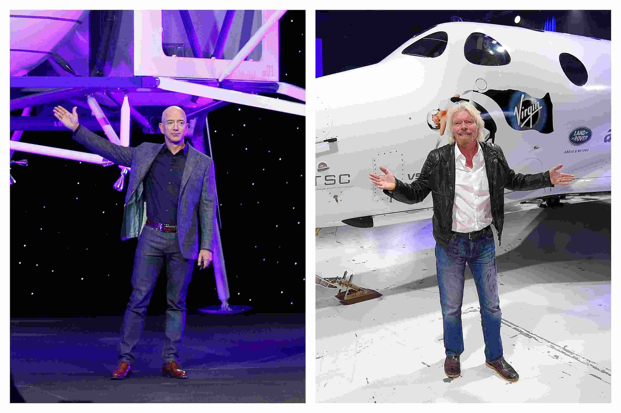 Both billionaires are ready to explode into space, who has a better plan?  - Technology News, Firstpost