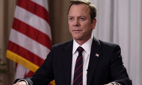 Kiefer Sutherland joins Showtime's First Lady as President Roosevelt
