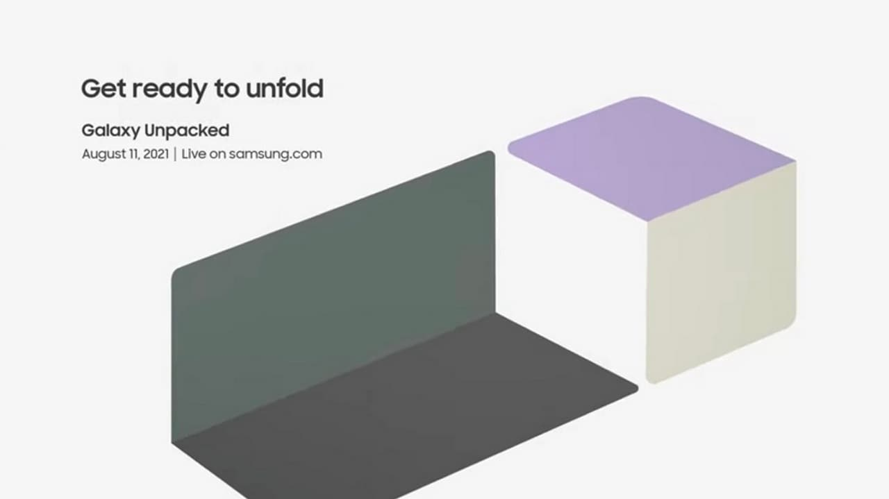 The Samsung Galaxy Unpacked event starts at 11.30 IST 11.30.