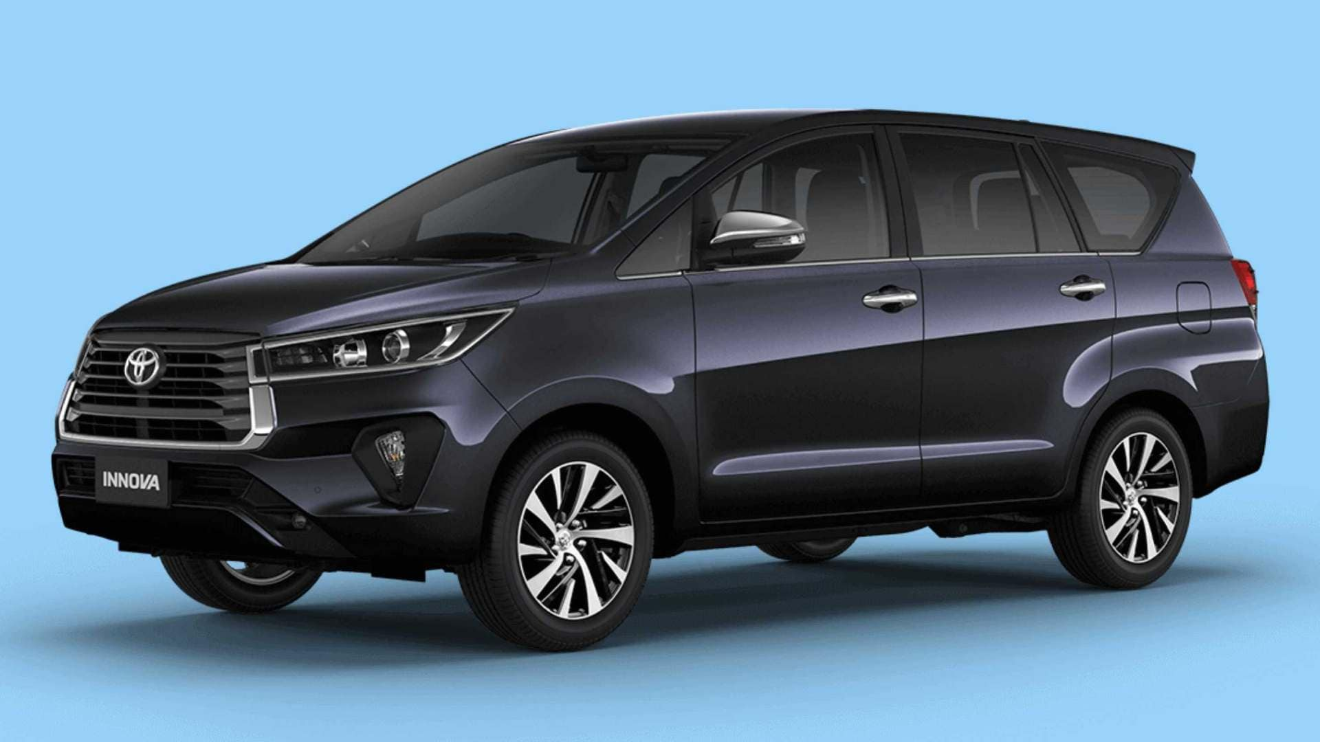 The current generation Toyota Innova Crysta received a facelift in 2020. Photo: Toyota