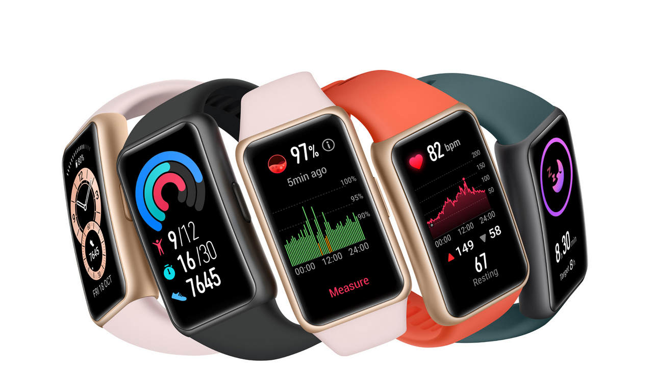 Huawei Band 6, with 14-day battery life, SpO2 display and more, launched in India at a price of 4,490 - Technology News, Firstpost