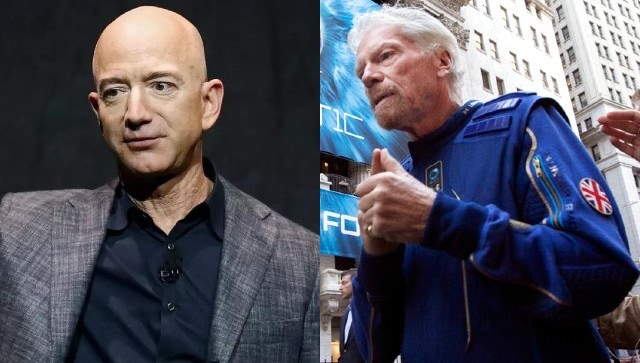 How billionaires Bezos and Branson compete in space - Technology News, Firstpost