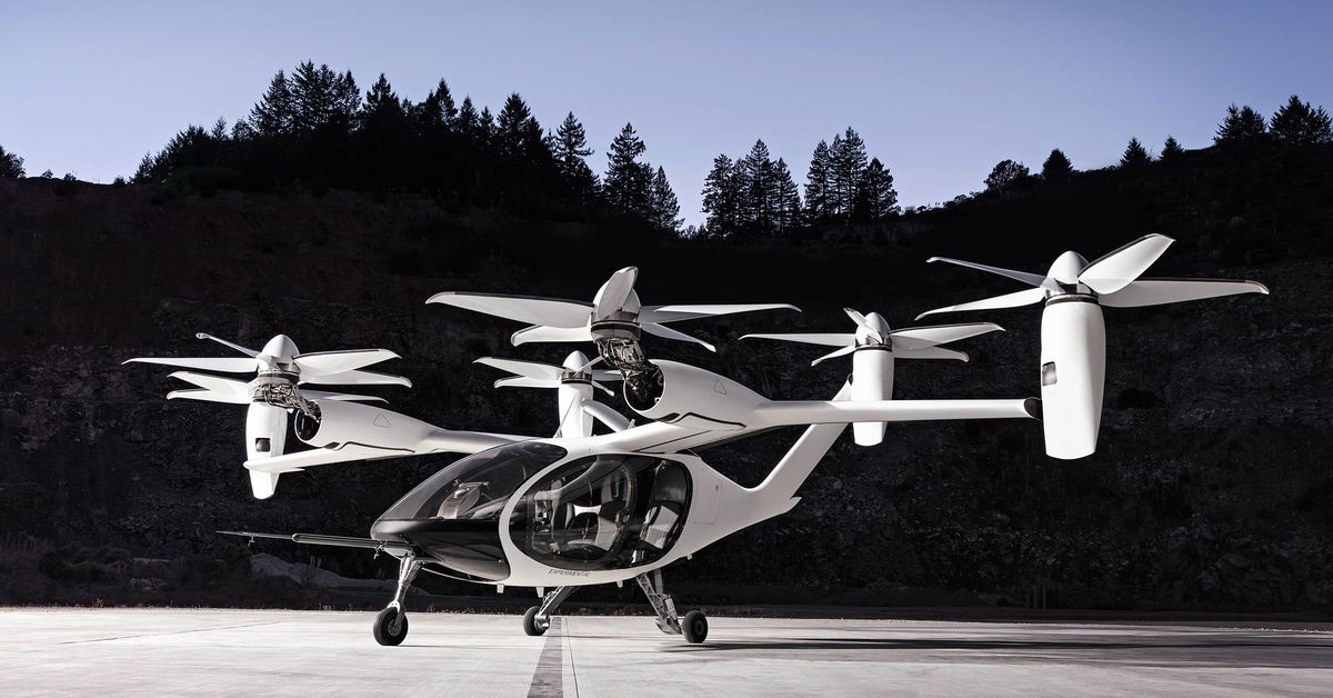 See how Joby Aviation's electric flight taxi completes a 150-mile flight