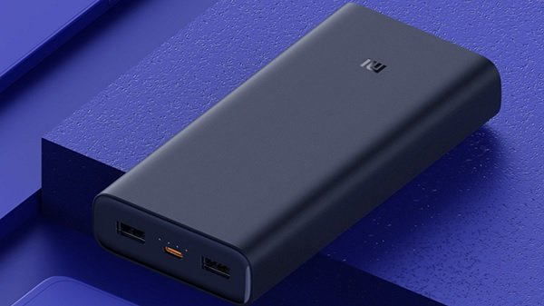 Mi HyperSonic: 20,000 mAh PowerBank with 50 W fast charge speed