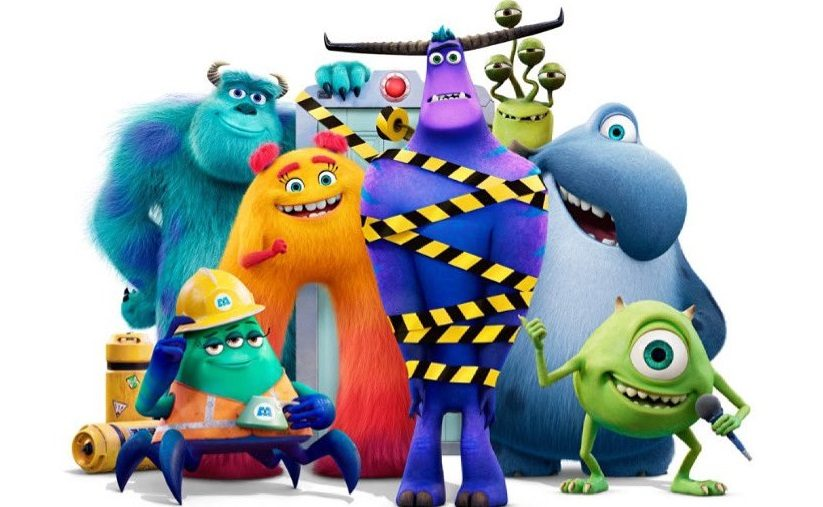 New character posters for the Disney Monsters At Work series