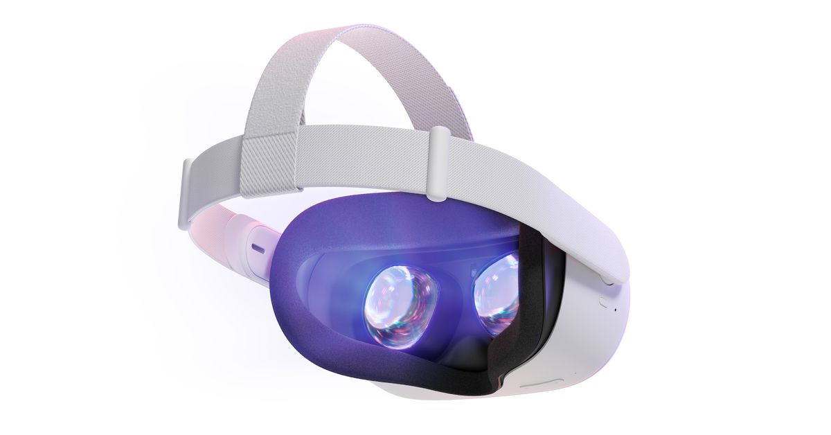 Facebook is updating the Oculus Quest 2 storage space and reminiscent of foam masks
