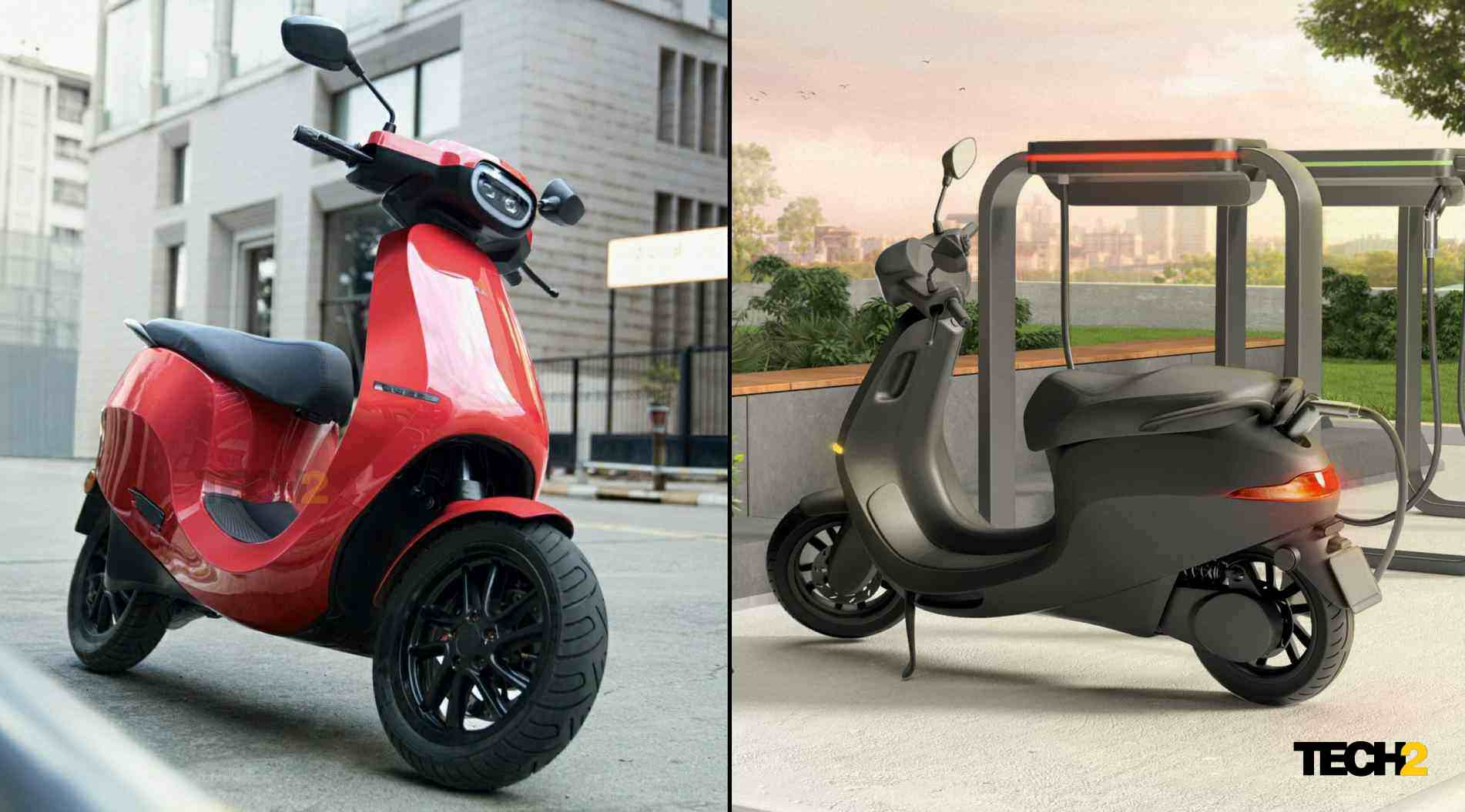 Ola Electric Series S-scooter has a range of up to 150 kilometers, fixed batteries - Technology News, Firstpost