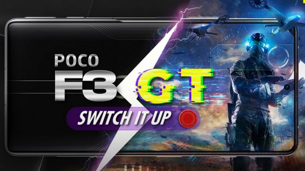 Poco F3 GT with MediaTek Dimensity 1200 Processor Launched in India on July 23 - Technology News, Firstpost