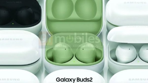 Samsung Galaxy Buds 2 leaked rendering suggests new color options