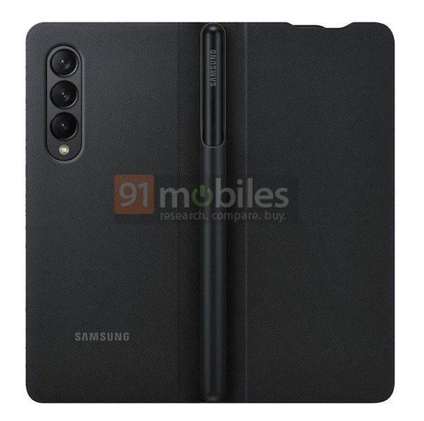 Leaked Galaxy Z Fold 3 case