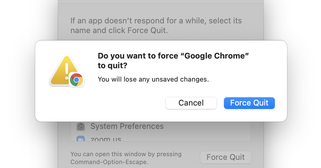 macOS 101: How to force a Mac application to quit
