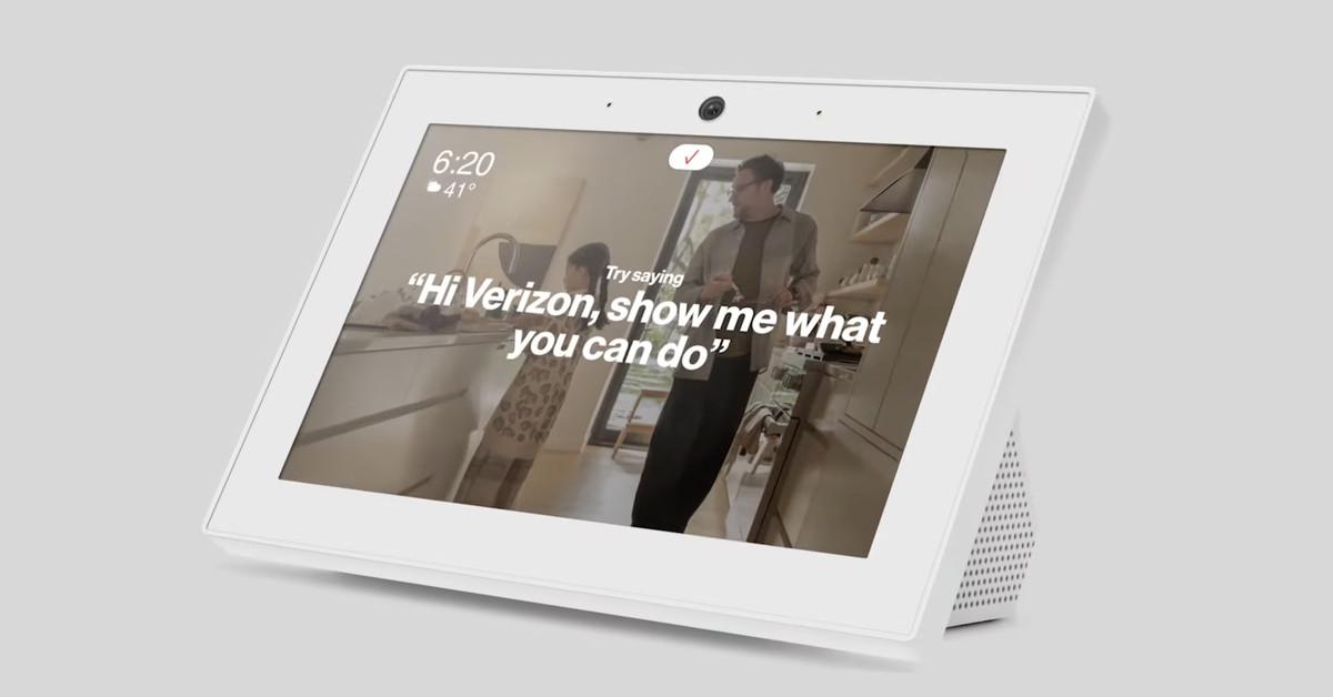 Verizon Smart Display provides assistants to Alexa and Verizon