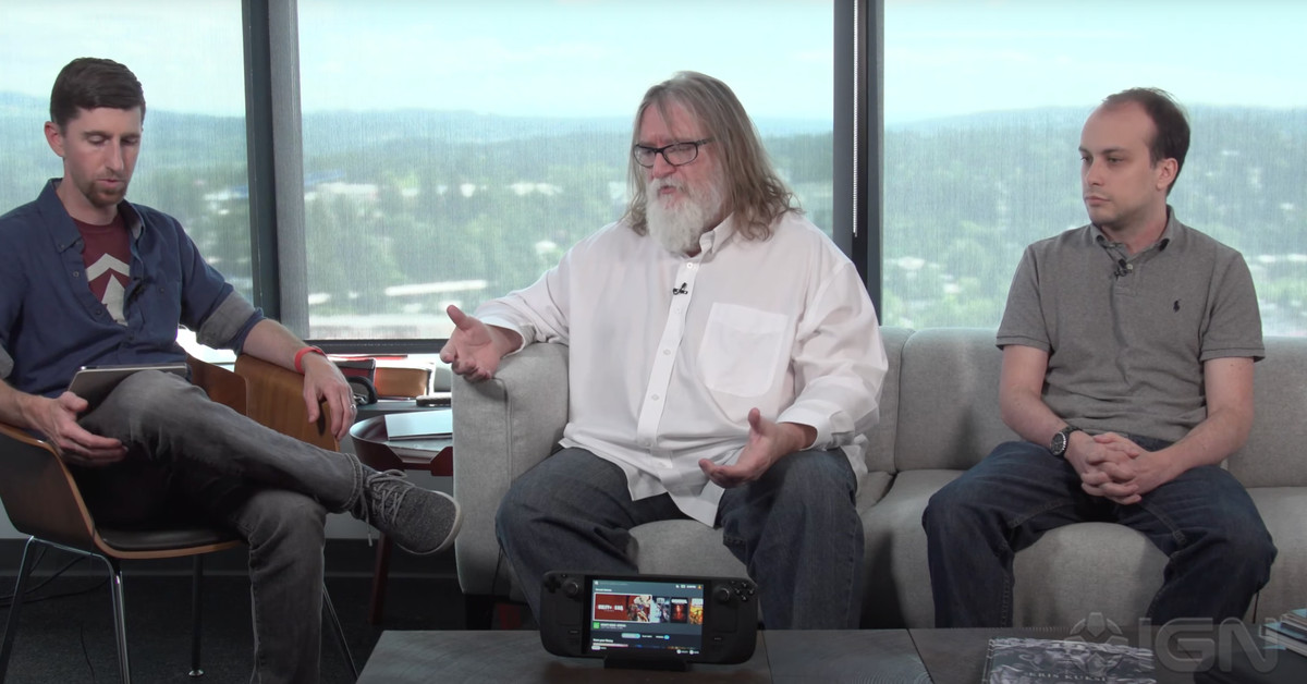 See valve Gabe Newell to explain why the Steam Deck exists