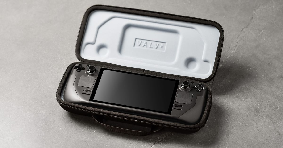 Valve's new Steam Deck can run Windows and turn your PDA into an Xbox