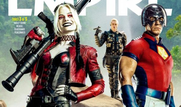 Magazine covers offer a new look to The Suicide Squad