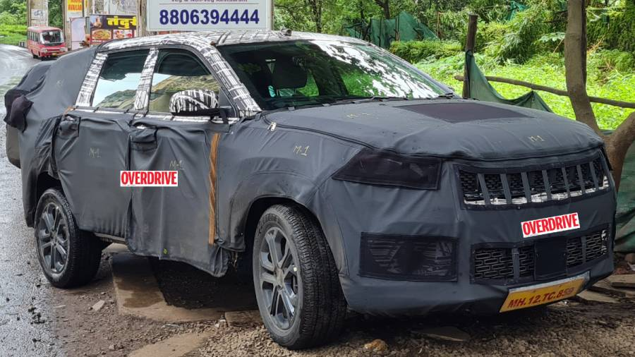 Three-row Jeep Meridian SUV spies in India in six-seater, launch expected in 2022- Technology News, Firstpost